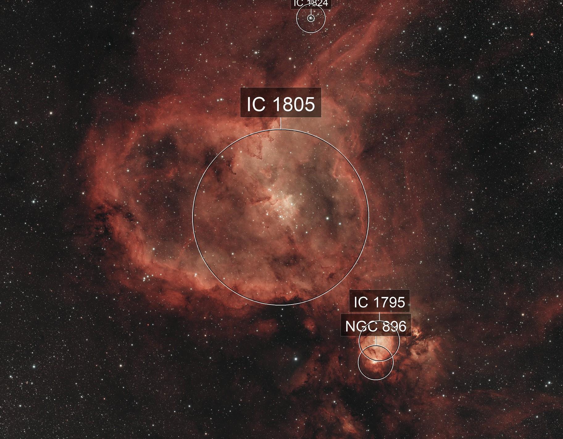 Heart Nebula (IC1805)