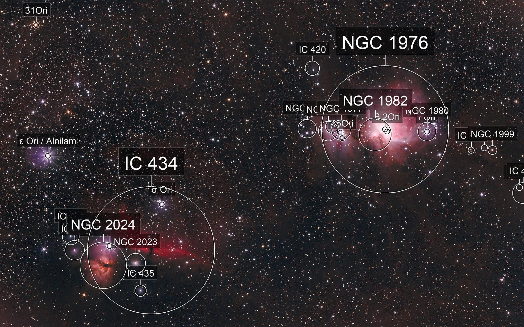M42 & NGC 2024 & IC 434