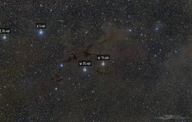 Barnard 228 – the Dark Wolf Nebula in Lupus - APOD 26/jul/2018