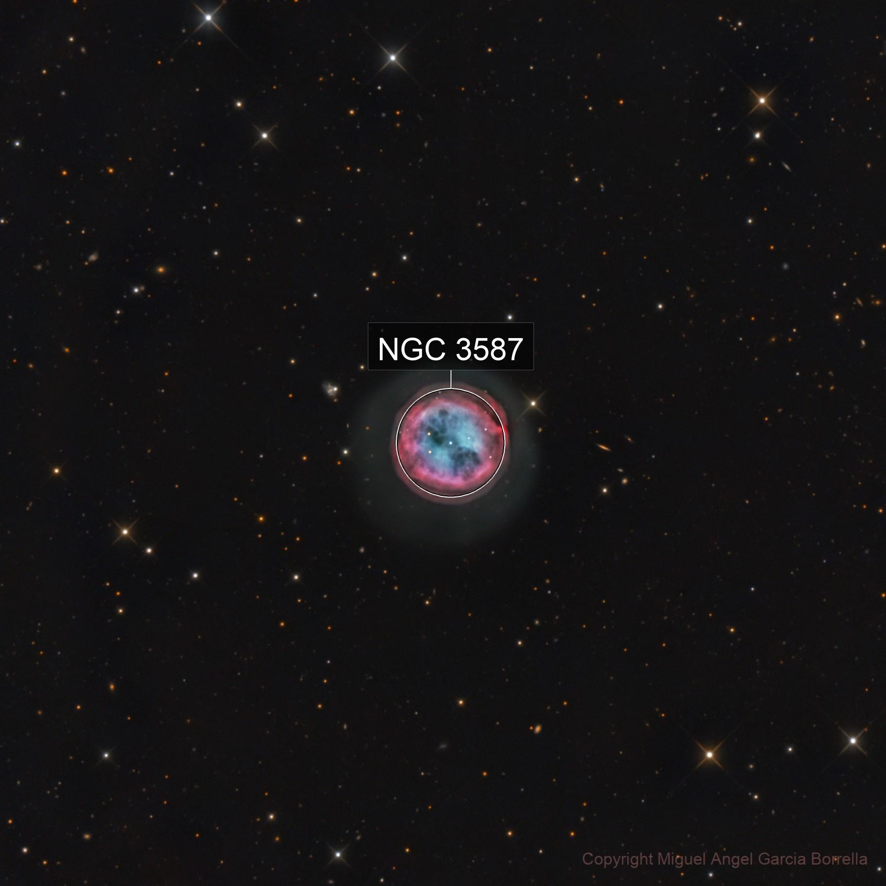 M97 Owl Nebula