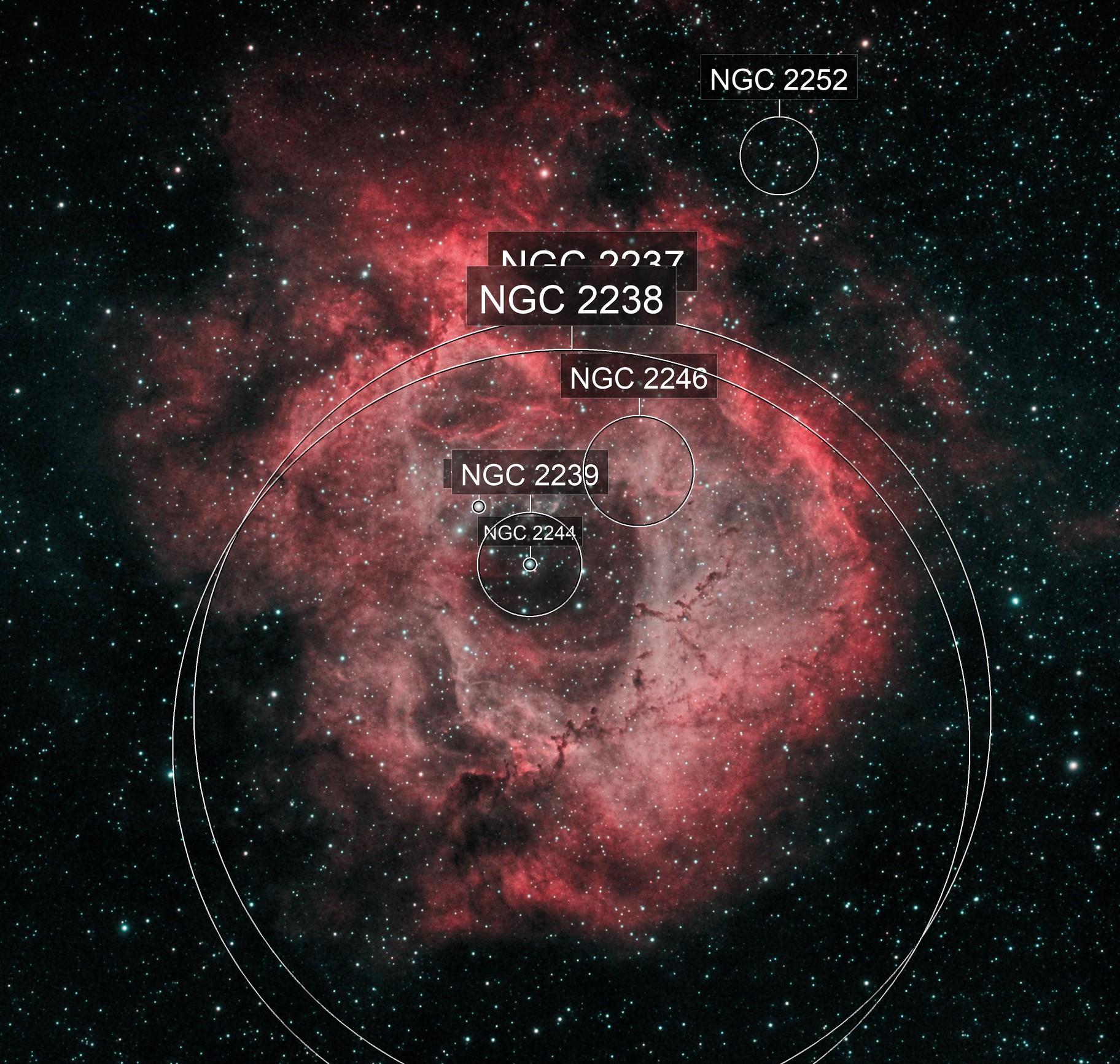 Rosette Nebula, NGC 2237