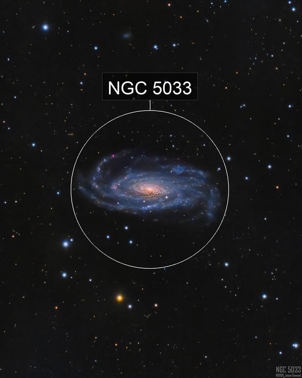 NGC5033 - A Warped Spiral