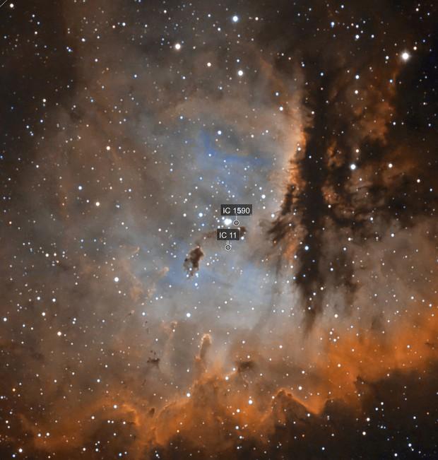 Inside NGC281