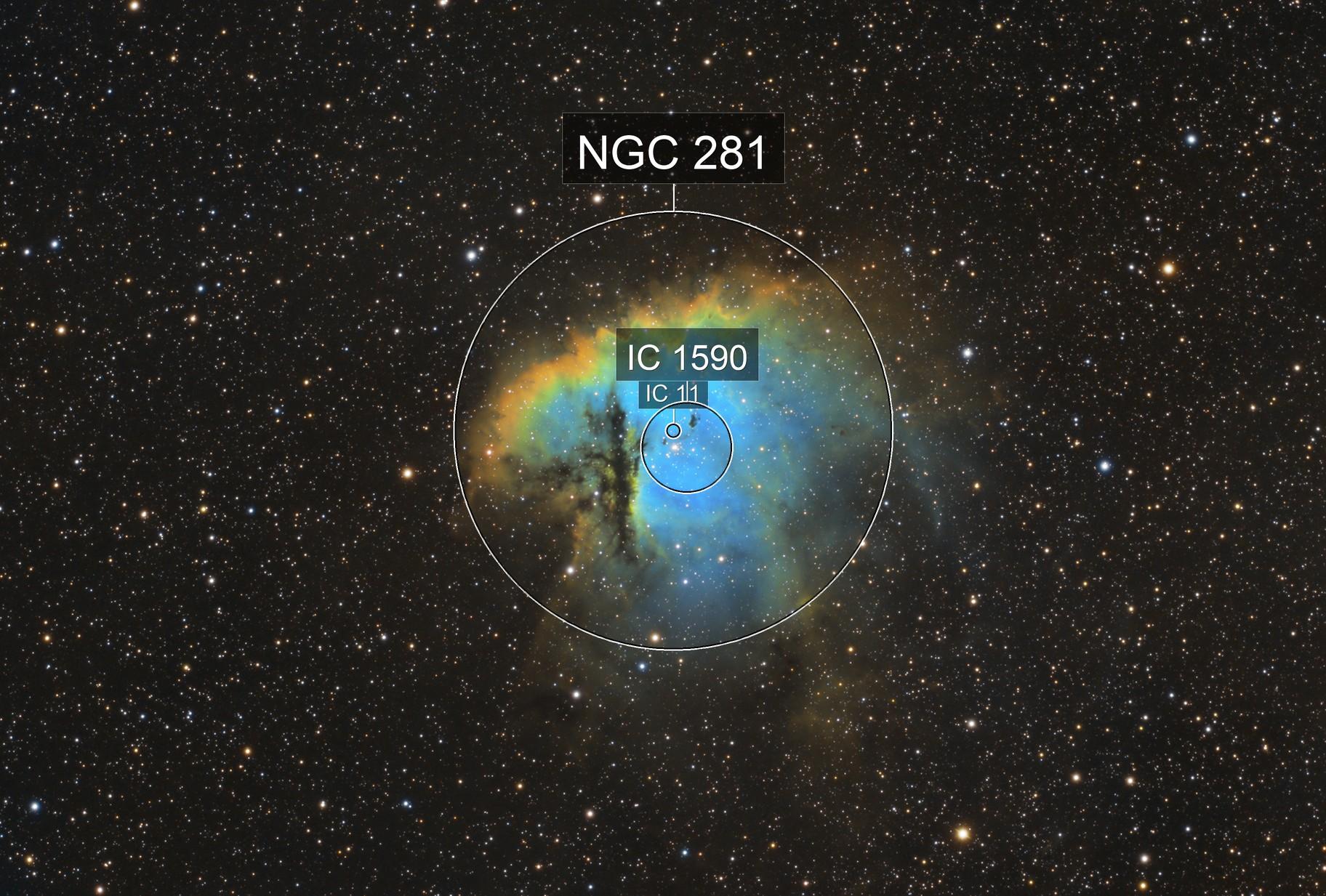Pacman NGC 281