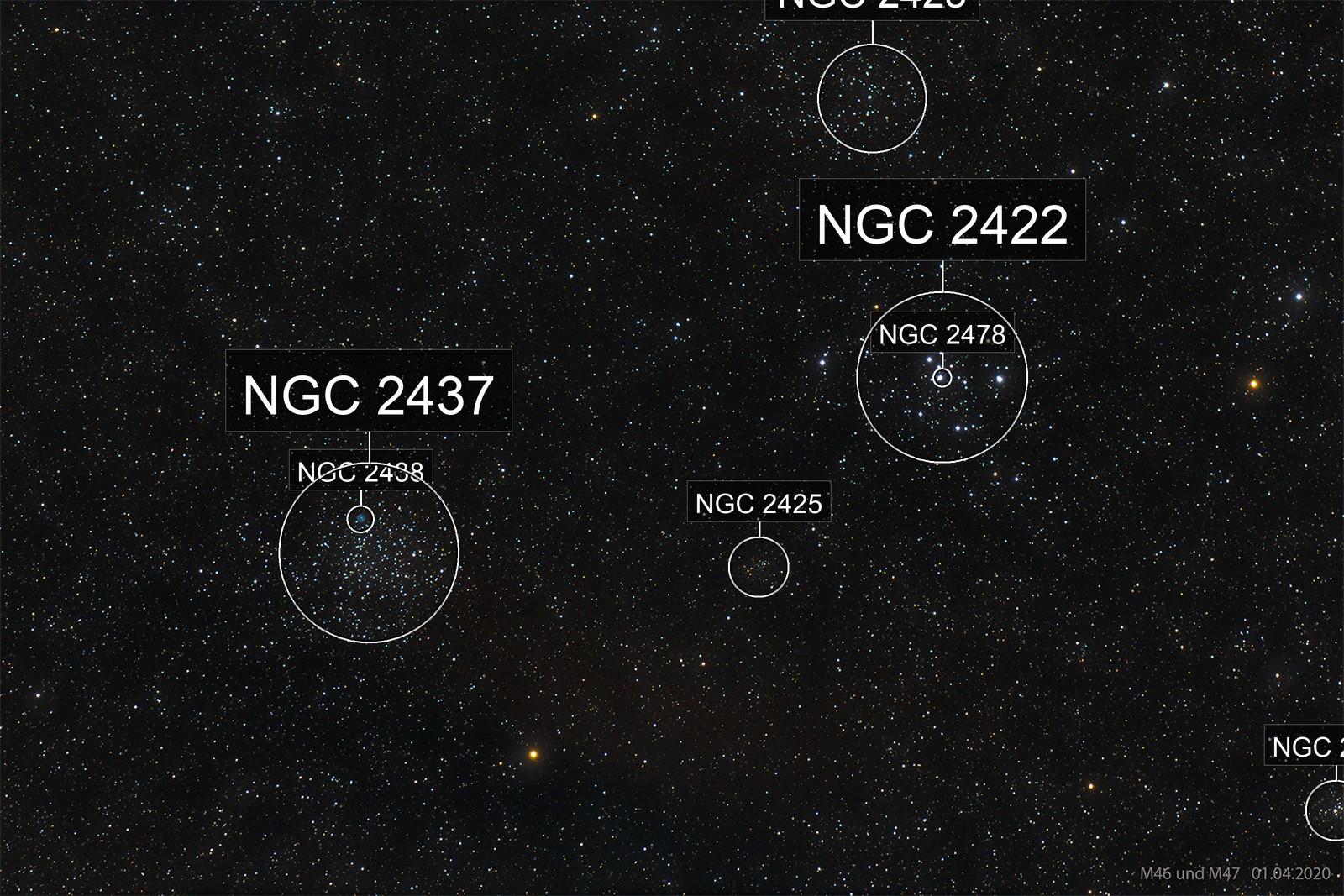 M46 und M47