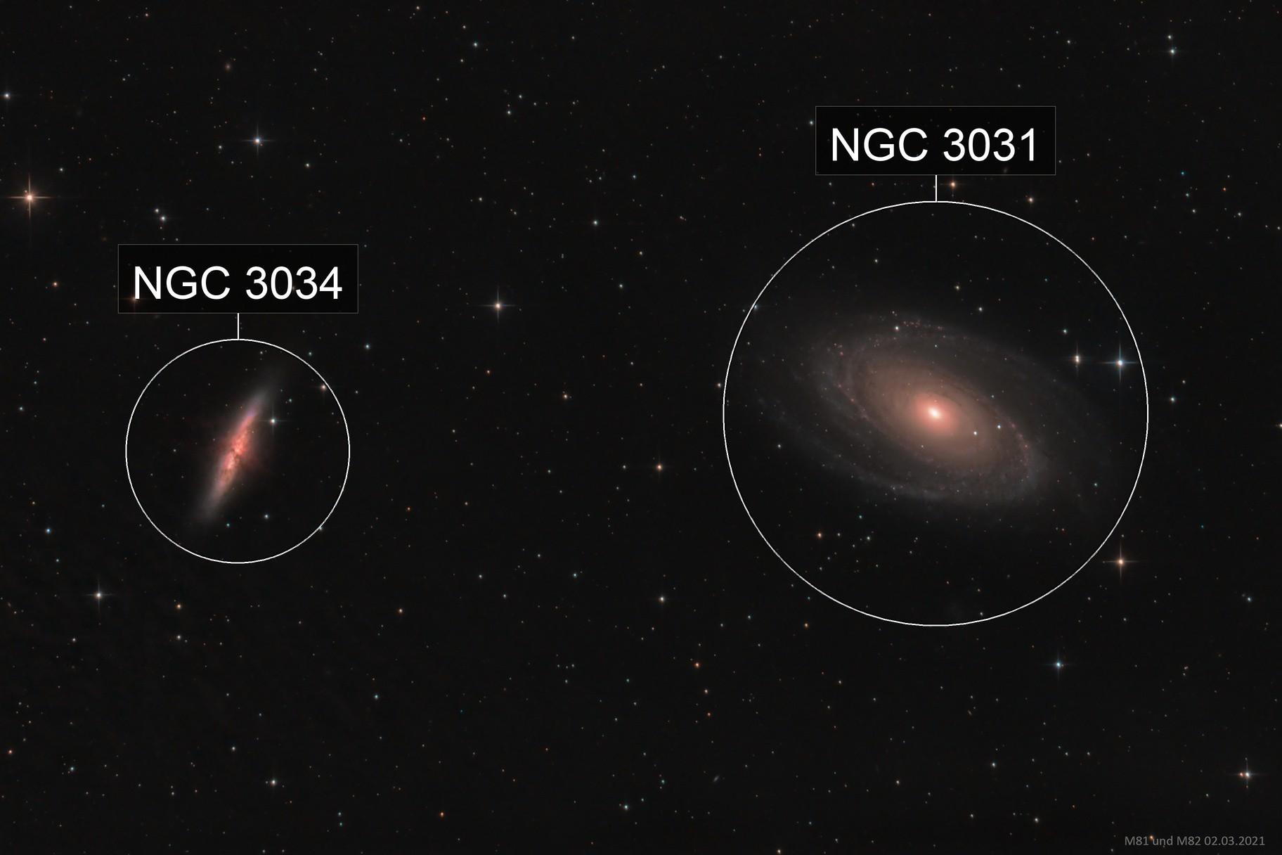 Messier 81 und 82