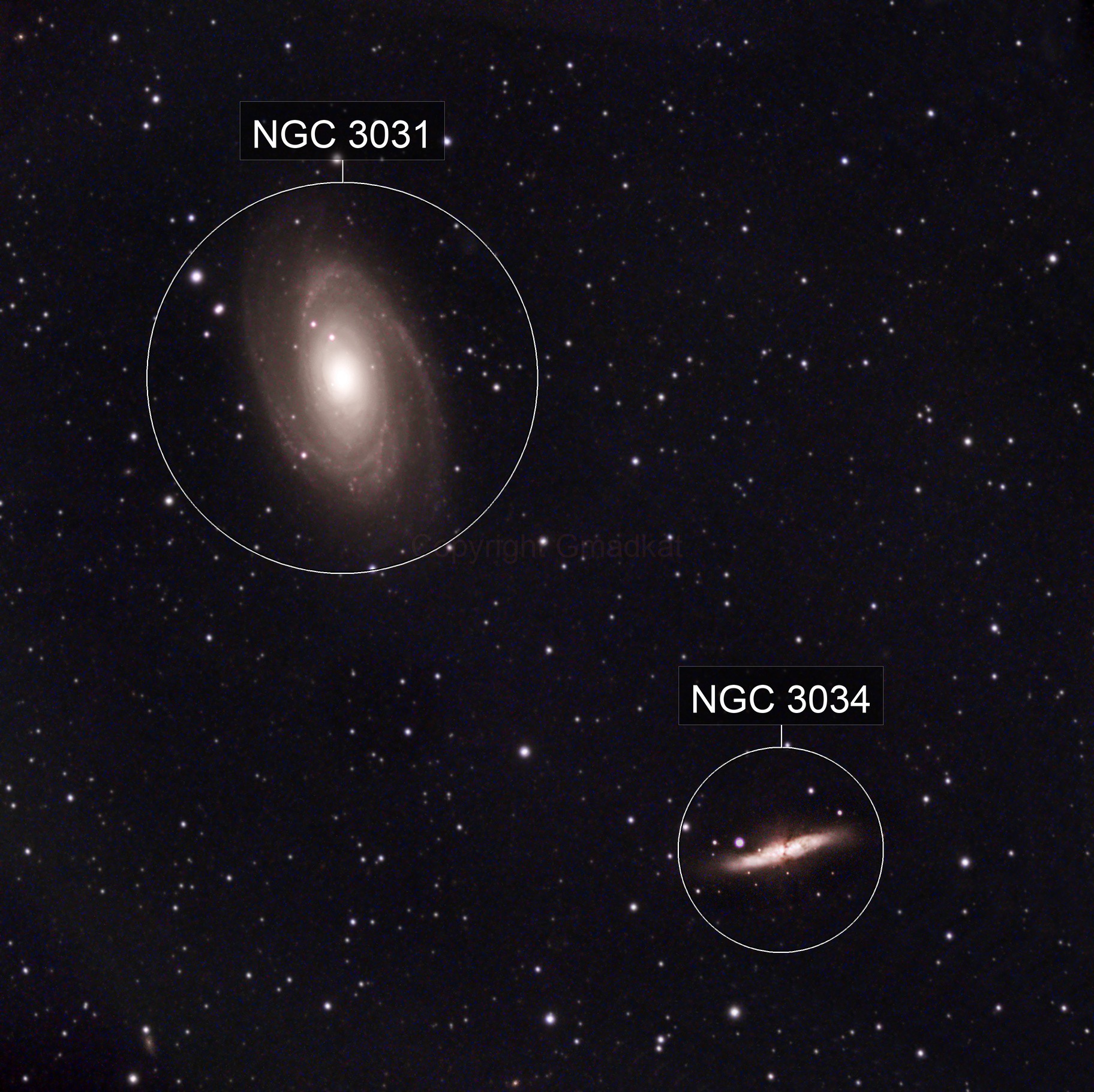 First attempt at M81/M82(Bode and Cigar Galaxies)