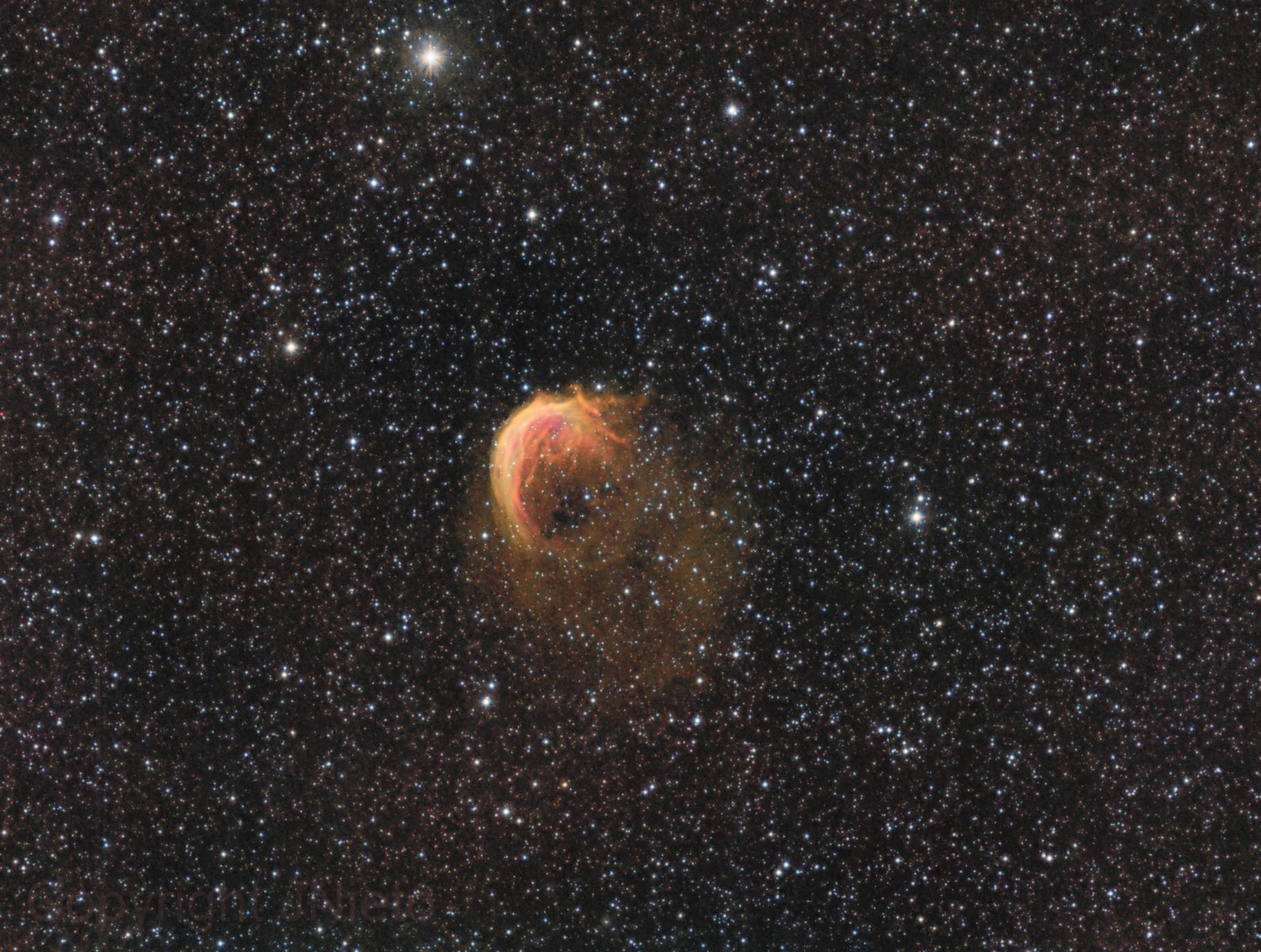 Sharpless 2-188 Planetary nebula
