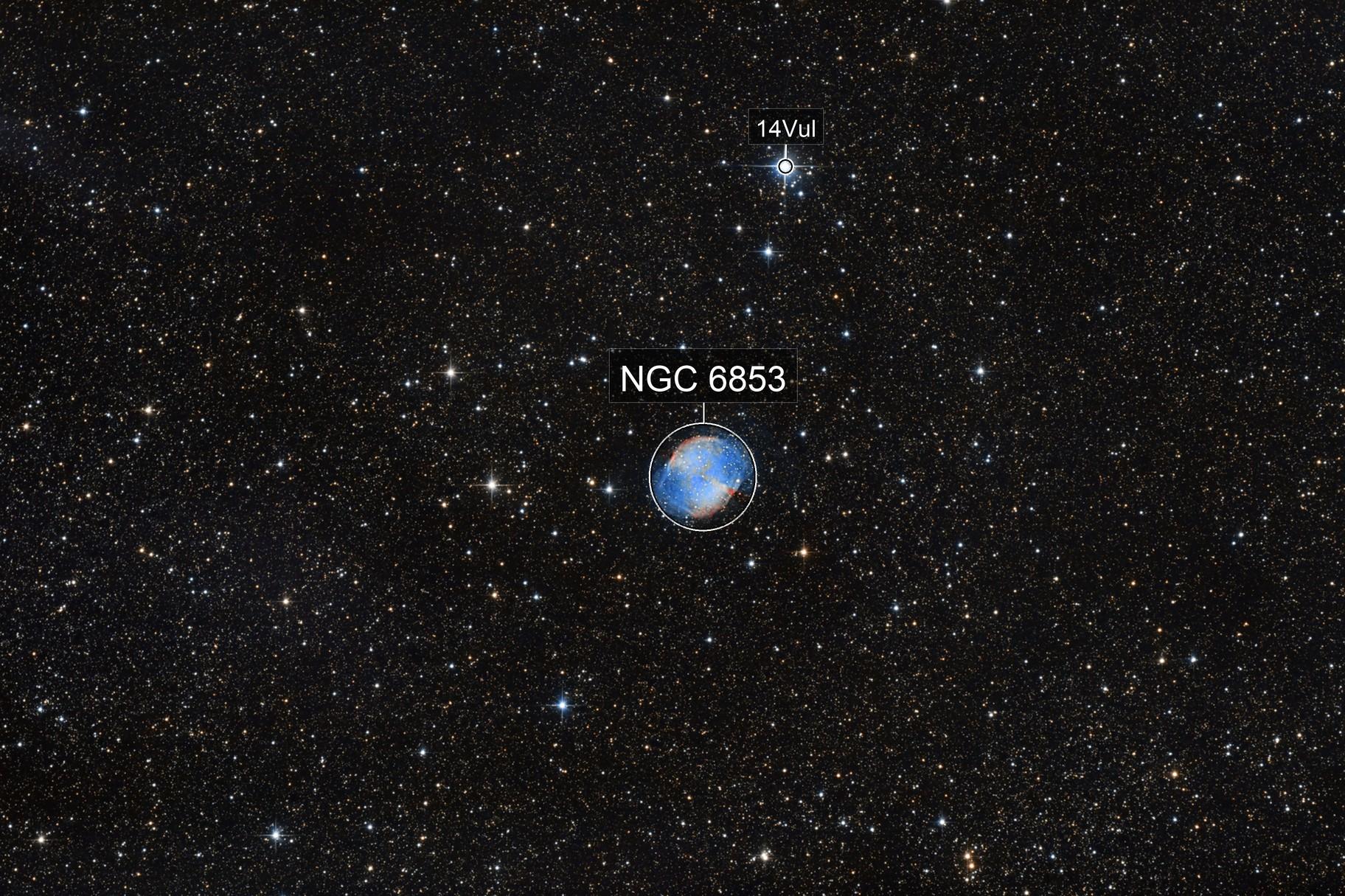 Messier 27 - Dumbbell Nebula