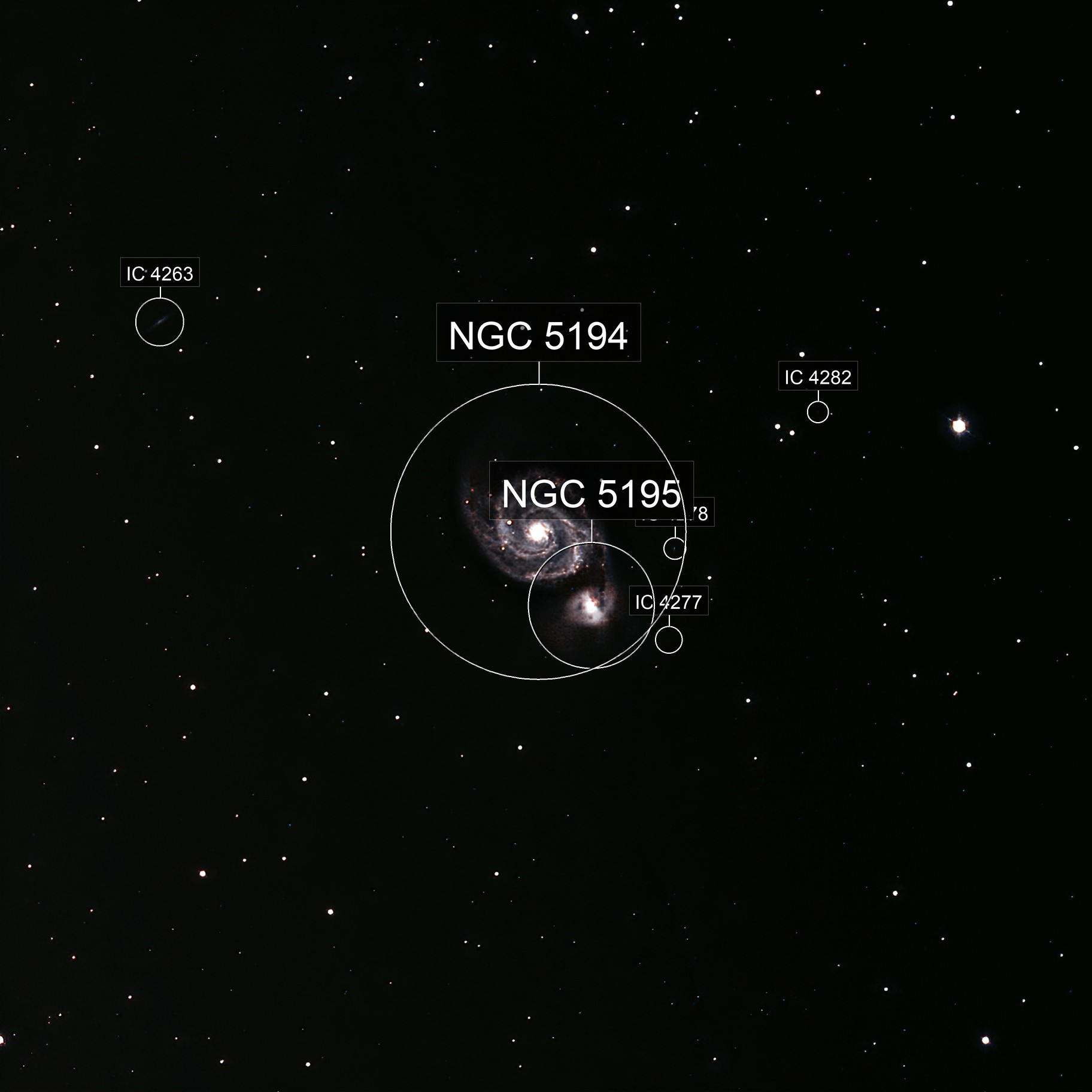 M51 (Whirlpool Galaxy)