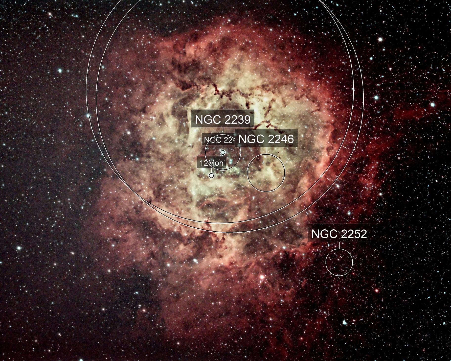Rosette Nebula - NGC 2244