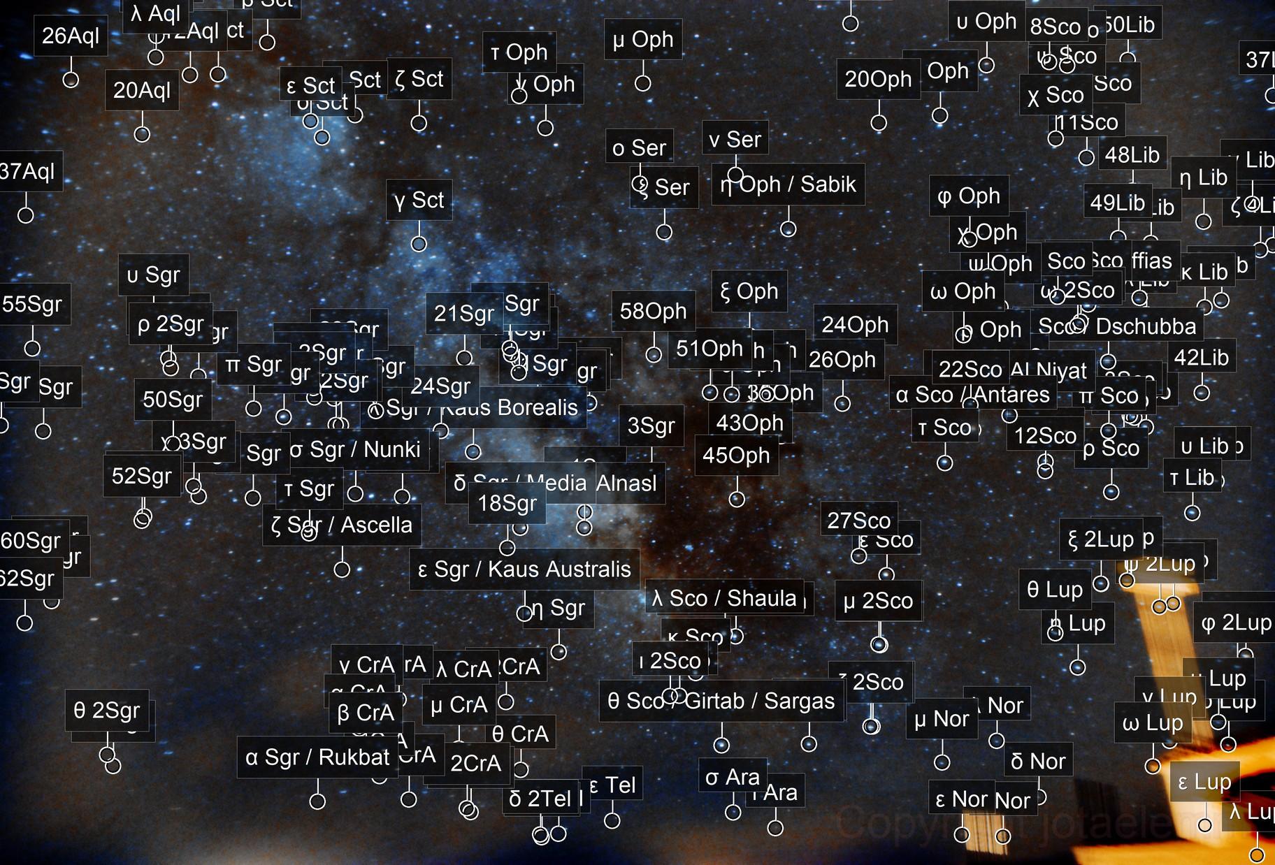 Via Láctea desde Úbeda