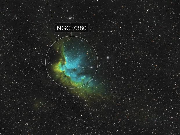 NGC7380 SHO