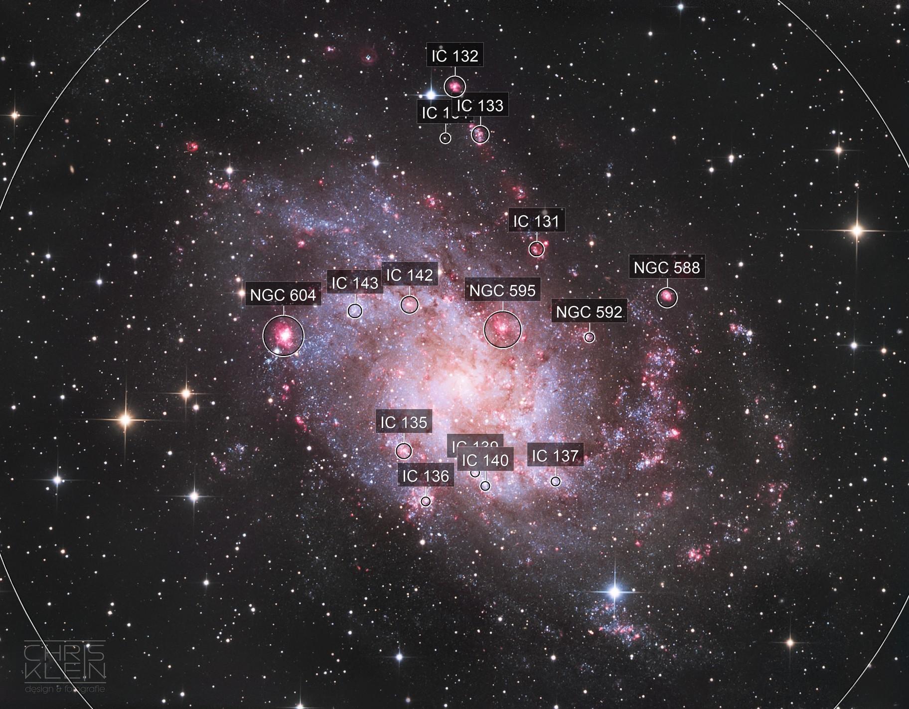 M 33 / Dreiecksgalaxie - Triangulum Galaxy
