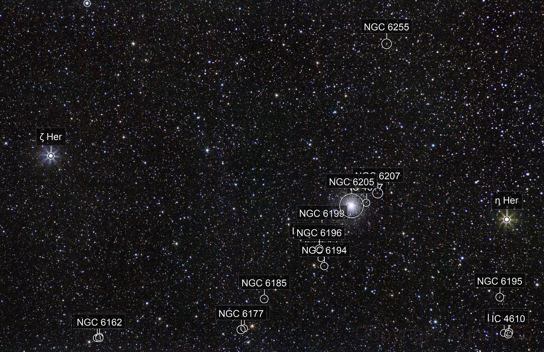The jewel between Eta and Zeta Herculis