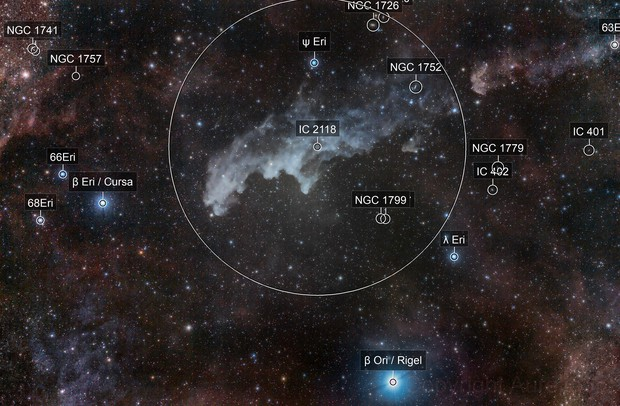 Another version of Witch Head Nebula..