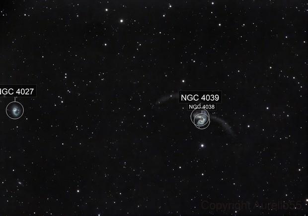 NGC  4038 & 4039 Antennae