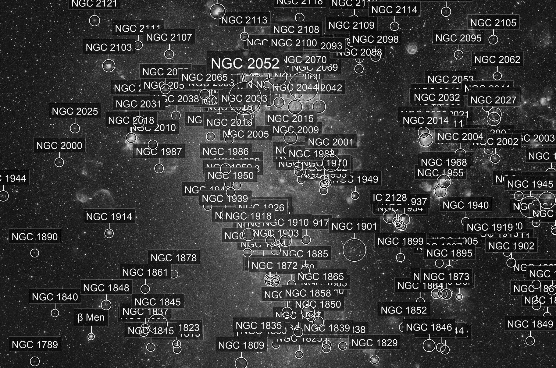 Large Magellanic Cloud & Tarentula nebulae