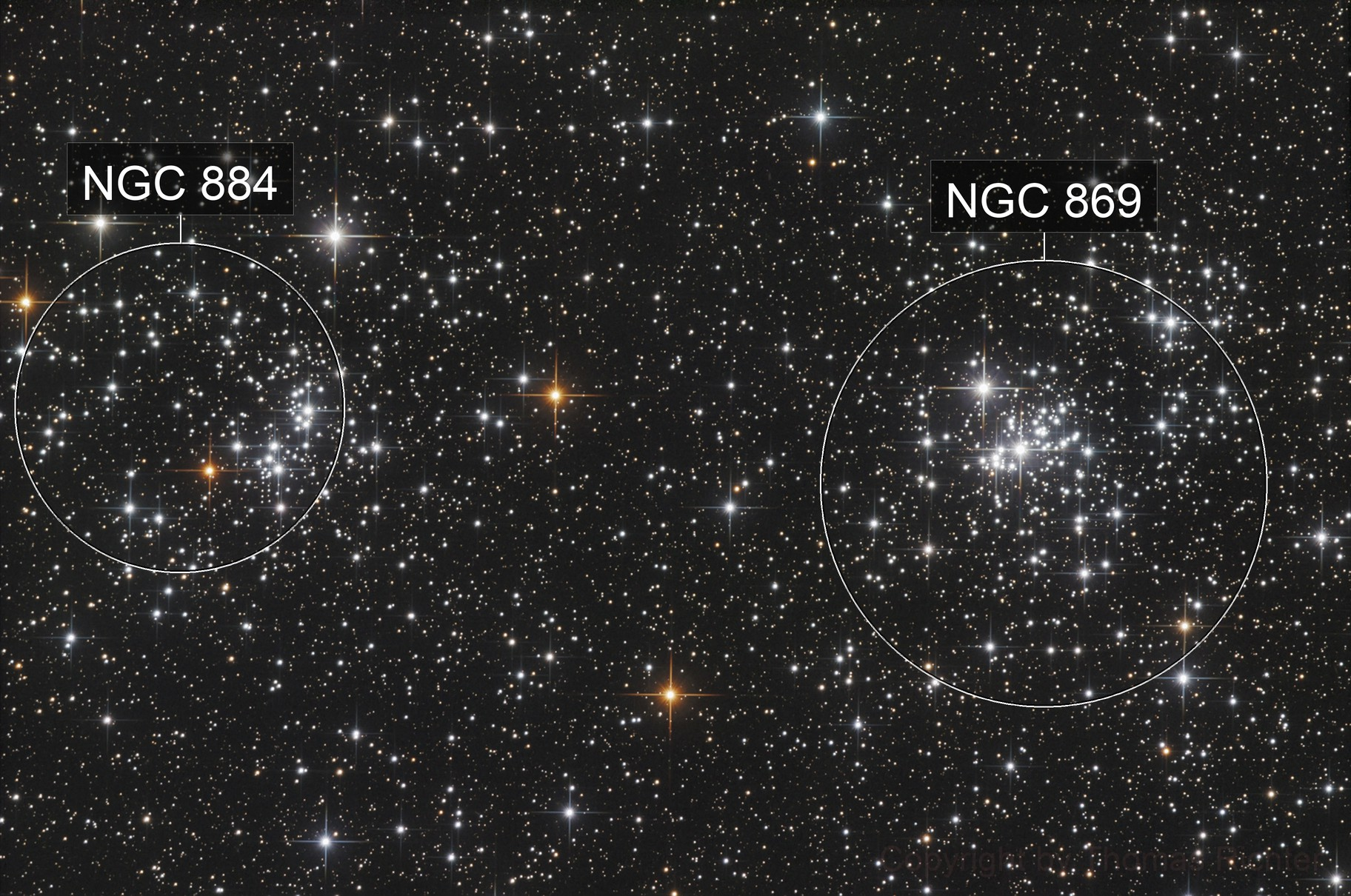 Double Cluster - h Persei and χ Persei