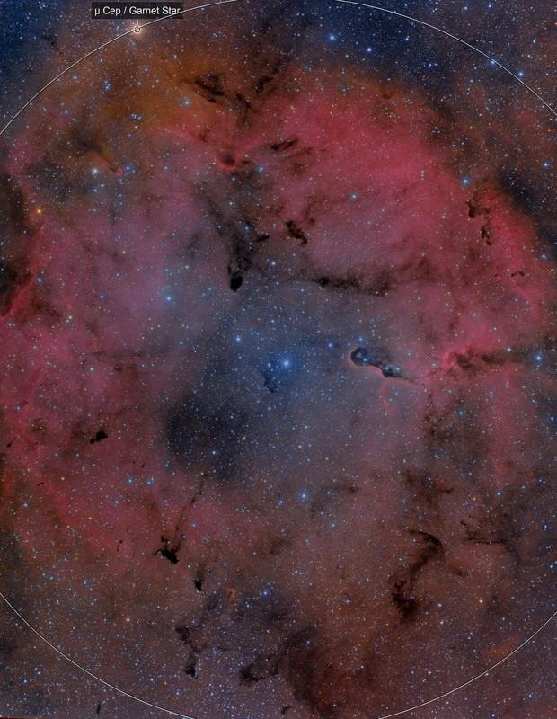 IC1396 - Ha-HaRGB