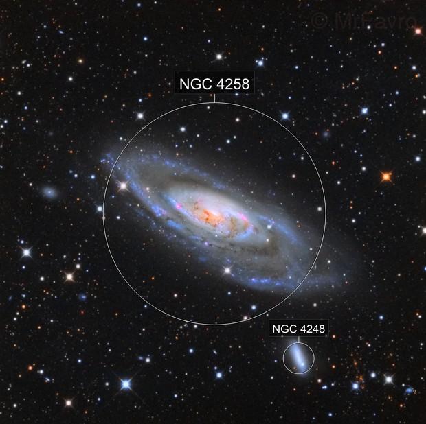 M106 LRGB (data shared by Oscar)