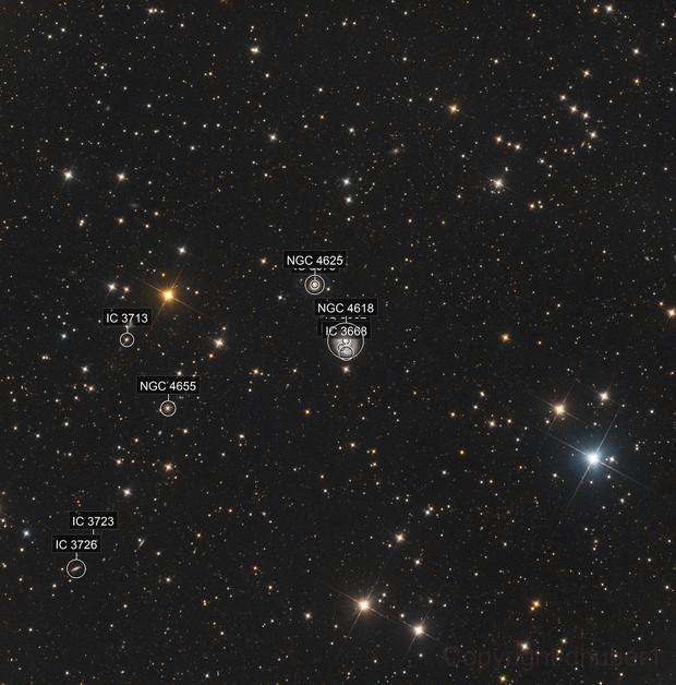 NGC 4618 wide field