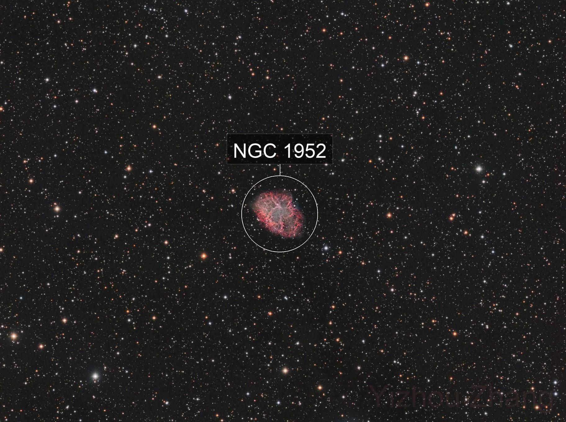 M1 - Crab Nebula (HaLRGB)