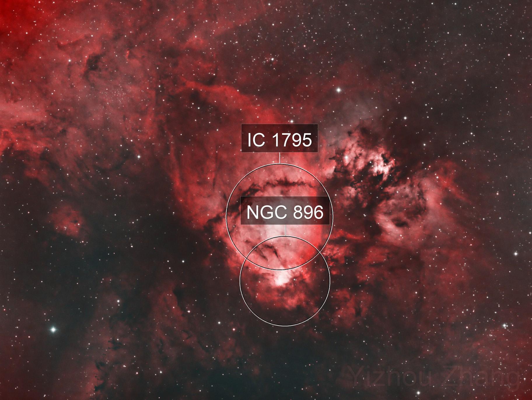 IC1795 - The Fishhead Nebula