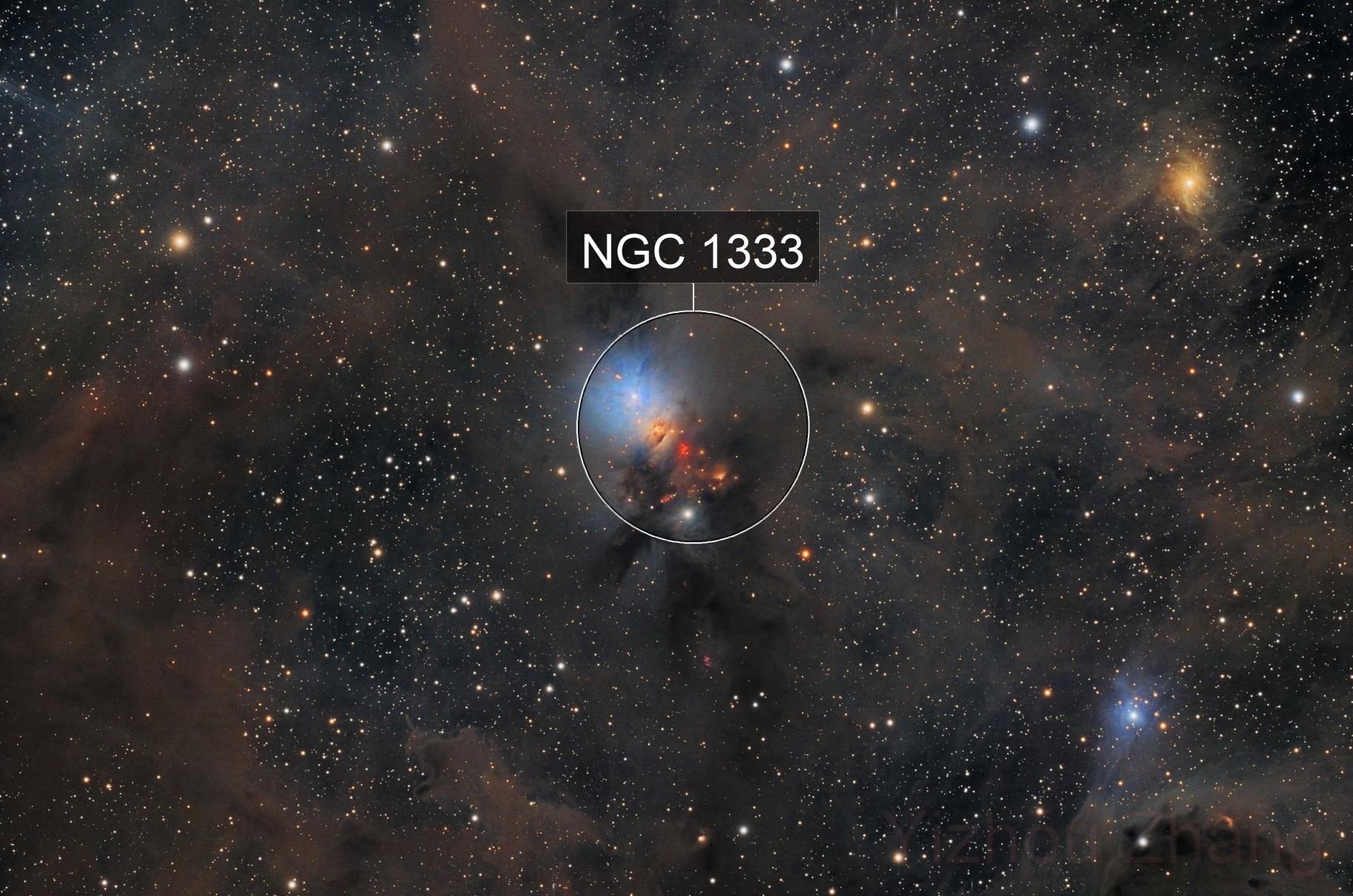 NGC 1333 Embryo Nebula