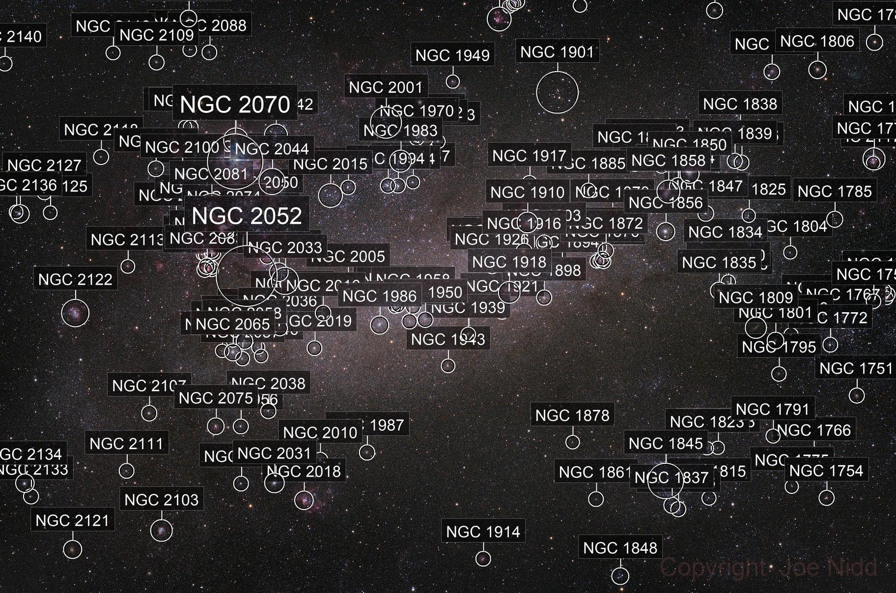 Tarantula Nebula Wide Field and Large Magellanic Cloud (LMC)