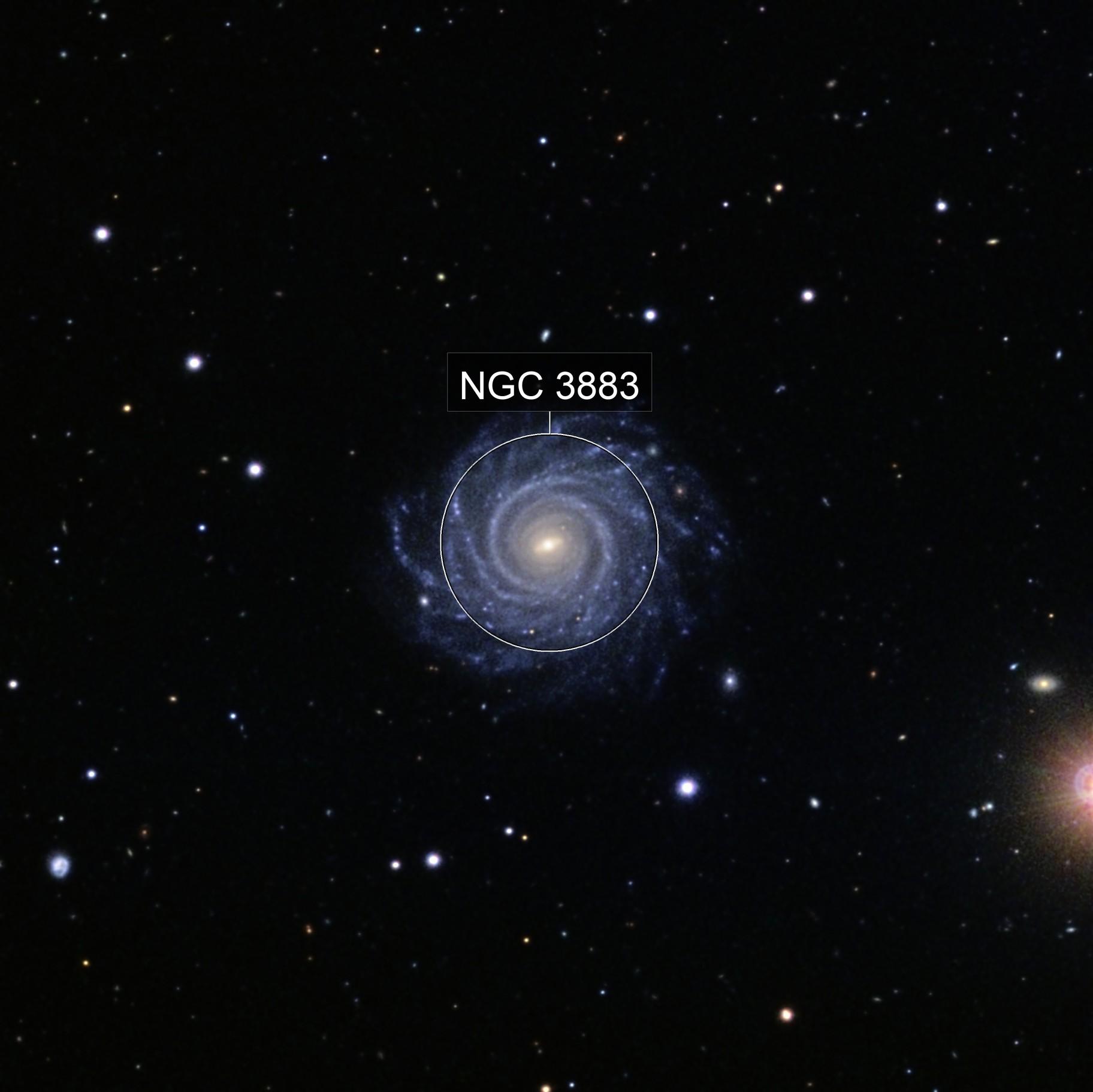 NGC 3883 [Liverpool Telescope]