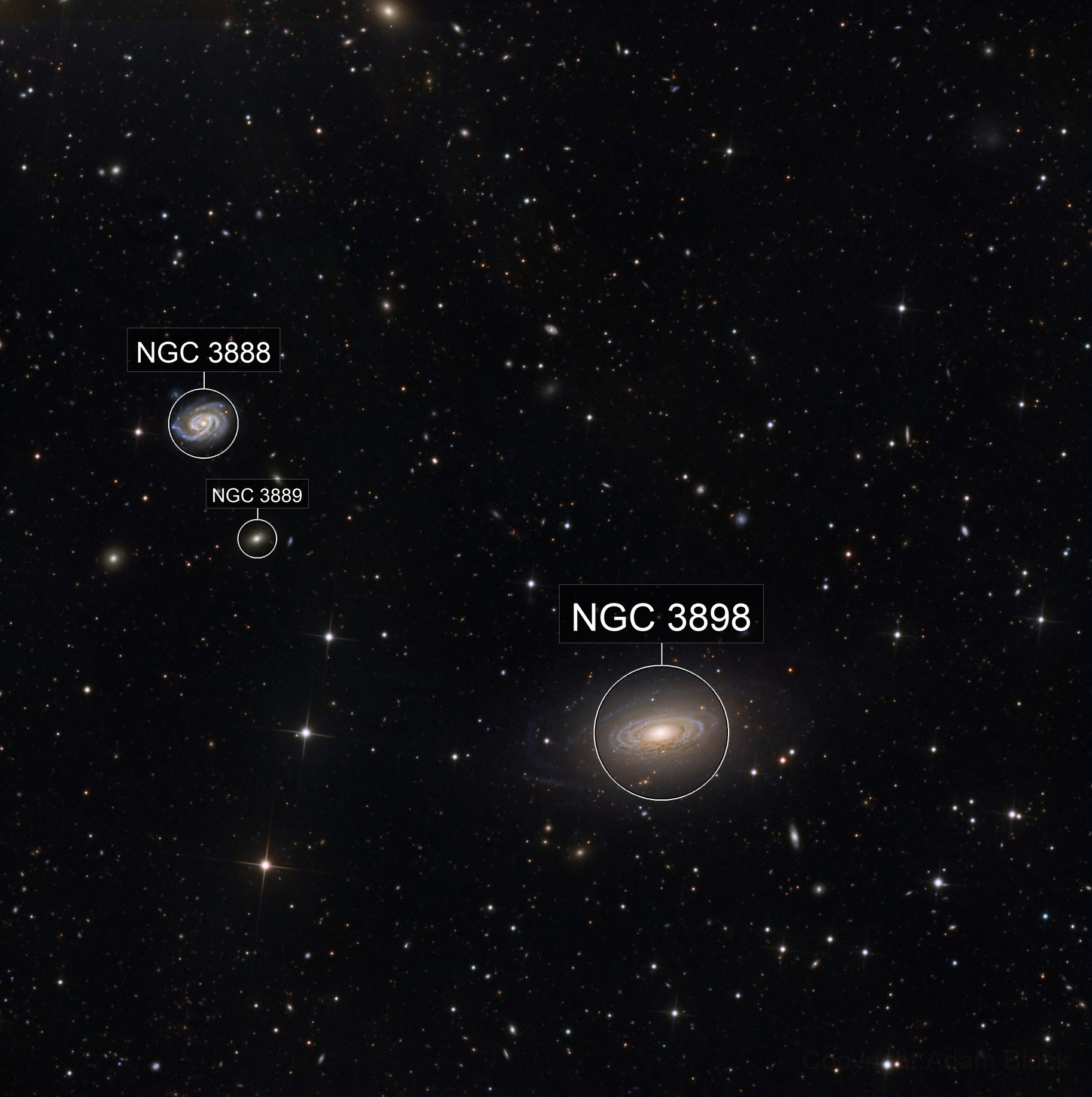 NGC 3898 and NGC 3888