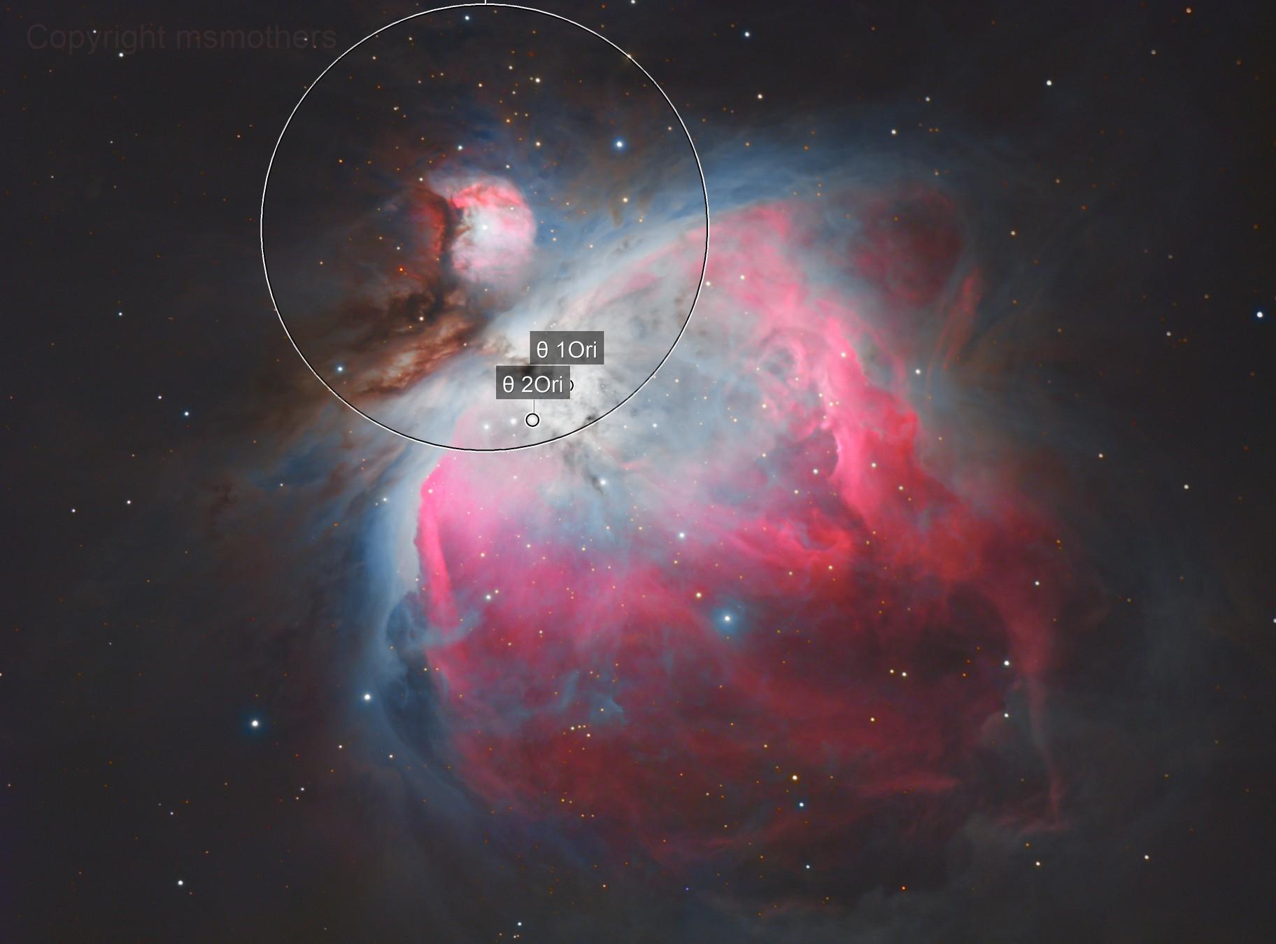 M42 Orion Nebula HaRGB v2