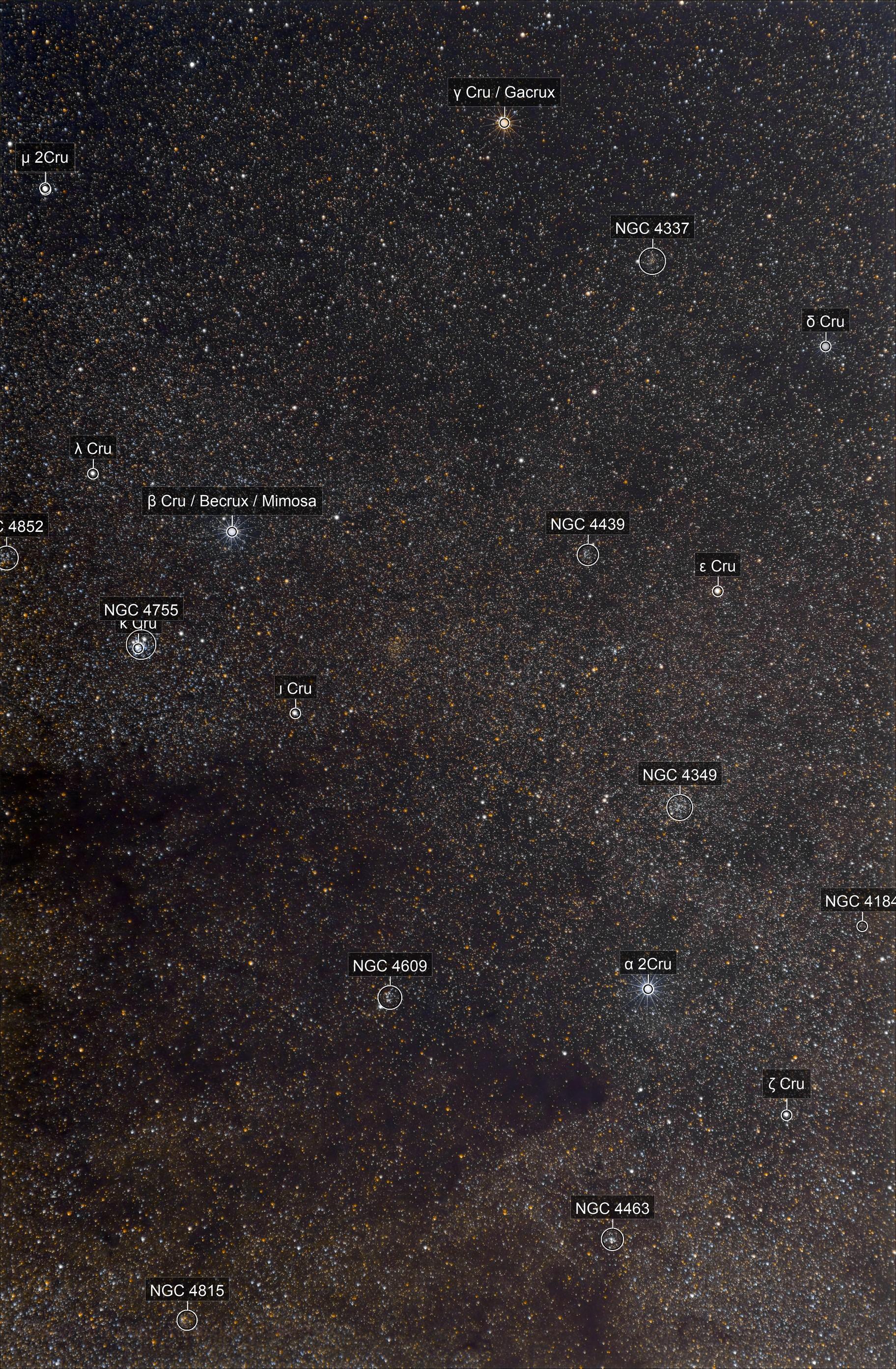 Crux and Coalsack Nebula (C99) 2.0