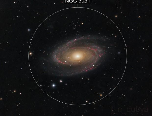 M81 - Bode's Nebula