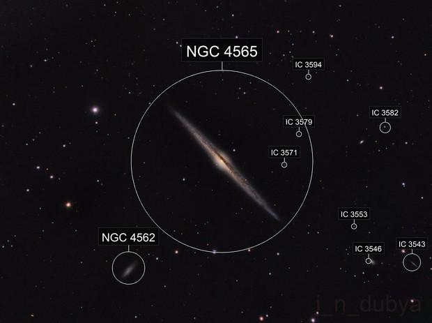 NGC 4565 - The Needle Galaxy
