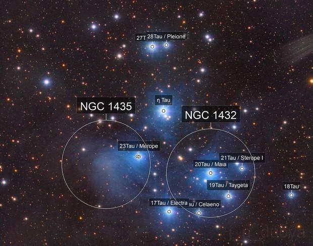 The Pleiades (M45)