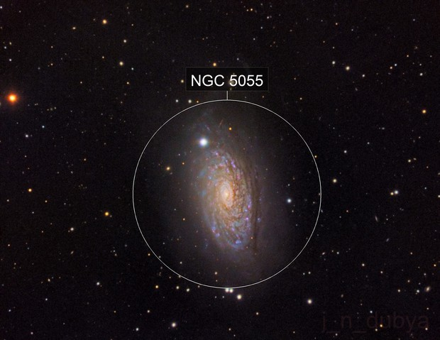 The Sunflower Galaxy (M63) V.2