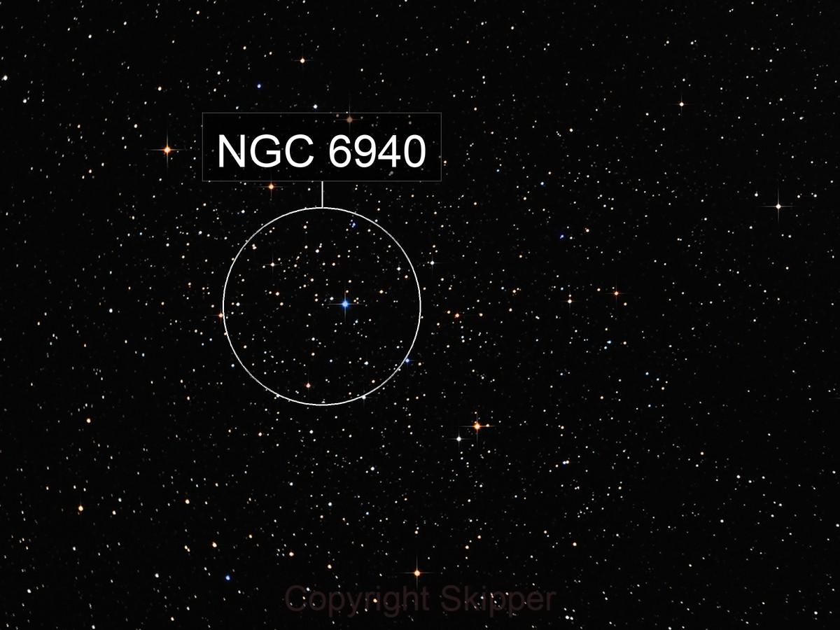NGC 6940 - Mothra Cluster