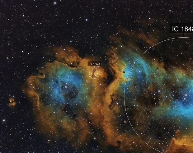 IC 1871 Emission Nebula