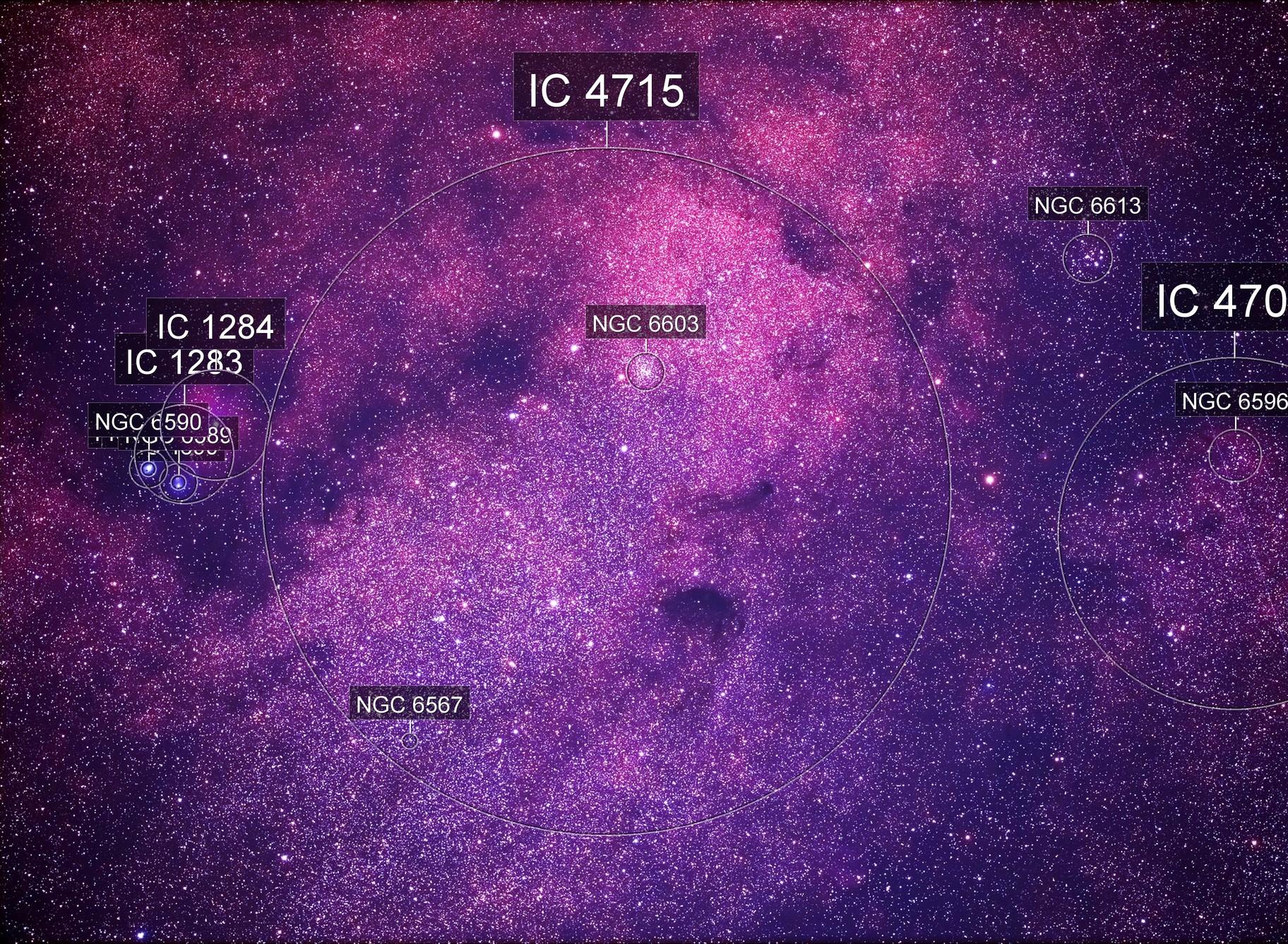 Sagittarius Star Cloud (Messier 24)