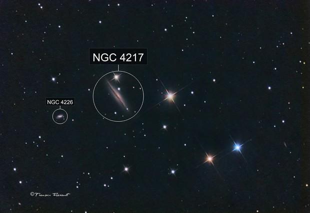 ngc 4217 In Ursa Major