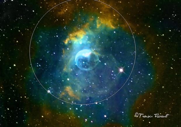 NGC 7635 Bubble Nebula