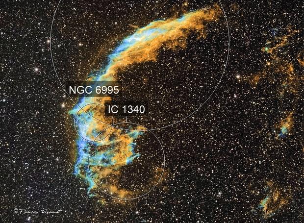 NGC 6995 Western Veil Nebula