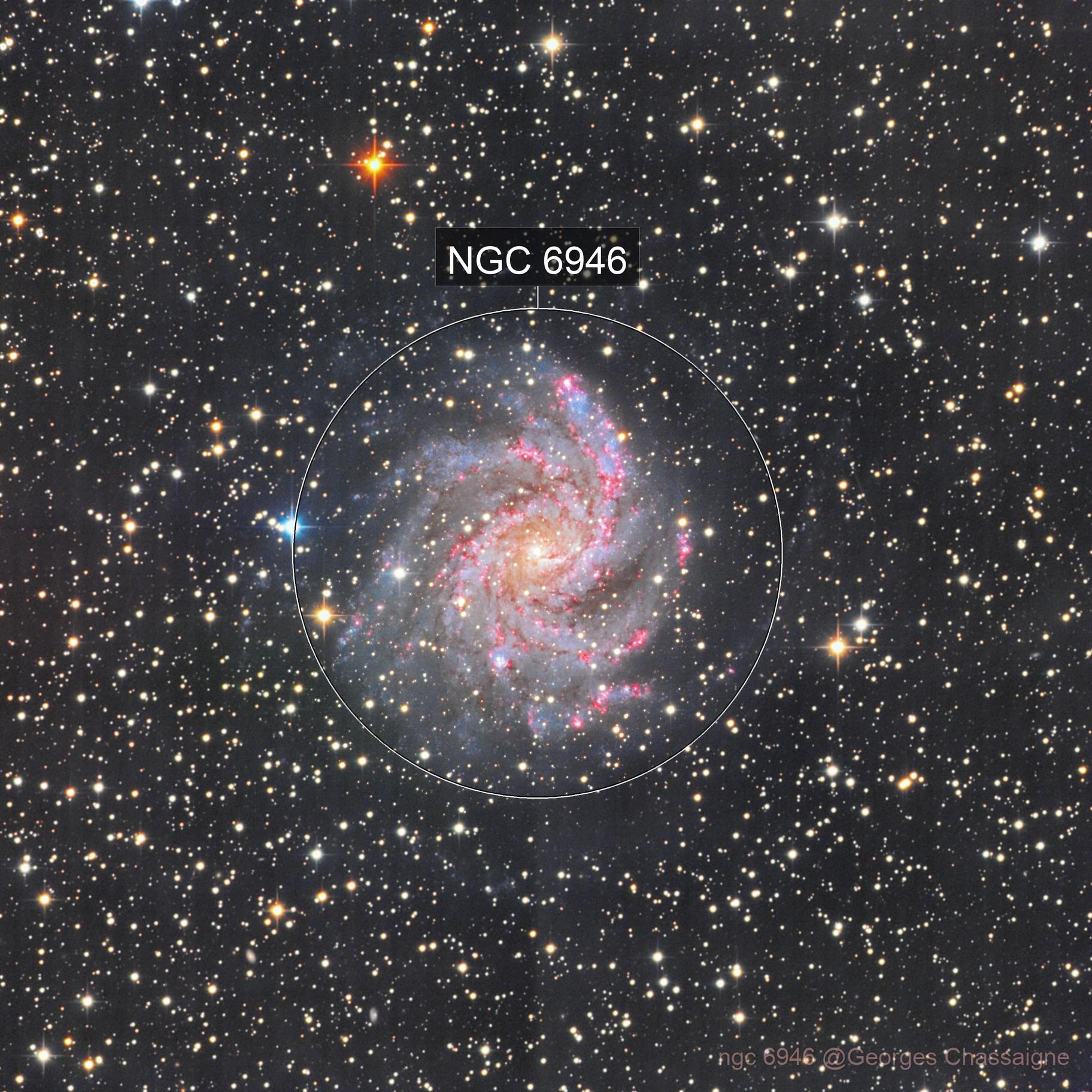 ngc 6946 Fireworks galaxy