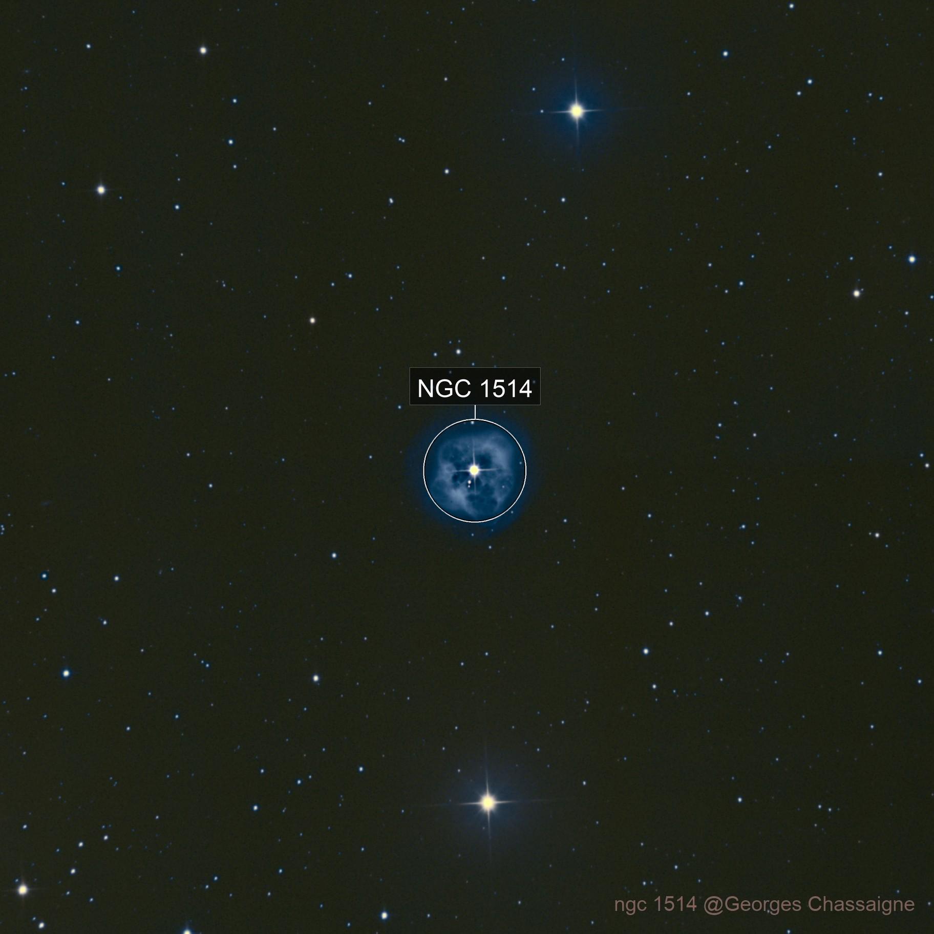 ngc 1514 NP Crystal ball nebula