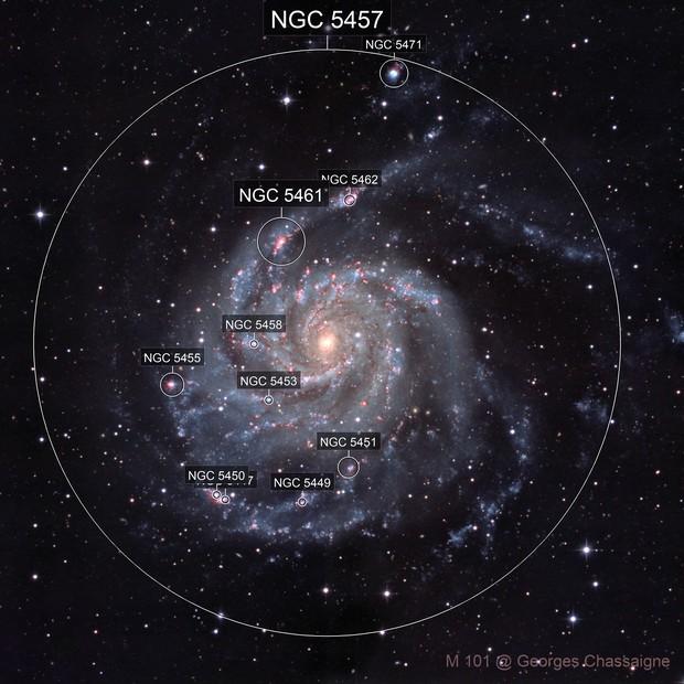 M 101 galaxy