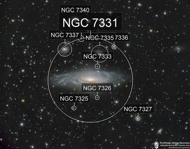 NGC7331 (and friends!)