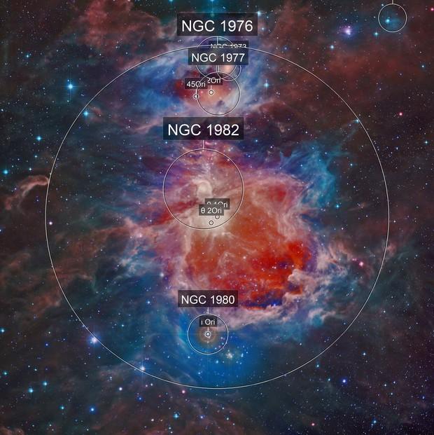 M42 Orion Nebula(Infrared/Optical )