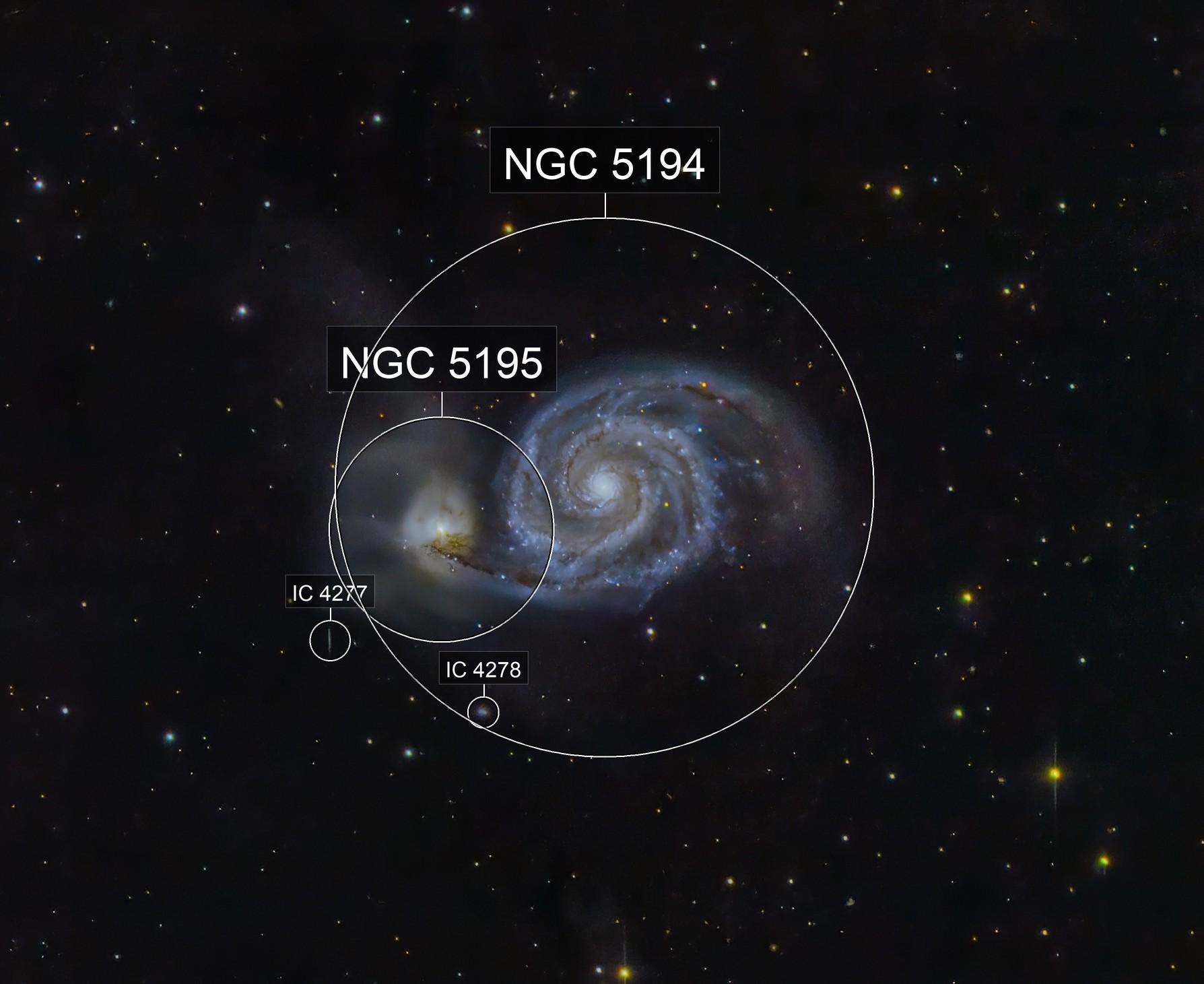 M51The  Whirlpool Galaxy